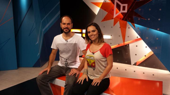 Terence Machado e Sabrina Damasceno apresentam o Alto-Falante