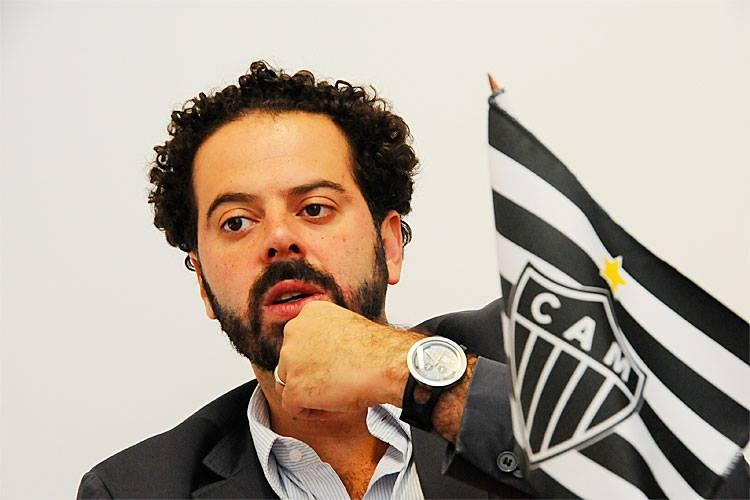 Presidente do Galo participa do Meio-de-Campo. Foto: Atlético