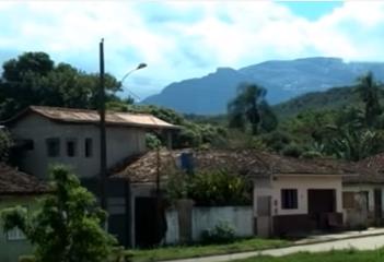 O distrito de Bento Rodrigues antes da tragédia