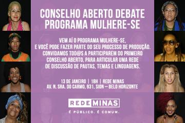 Conselho Aberto debate programa Mulhere-se