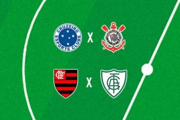 Cruzeiro e América-MG buscam vaga na final da Copinha