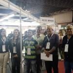 Equipe de marketing da Rede Minas e do programa Arrumação.