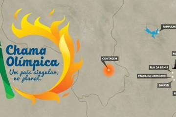 Acompanhe a chama olímpica em BH