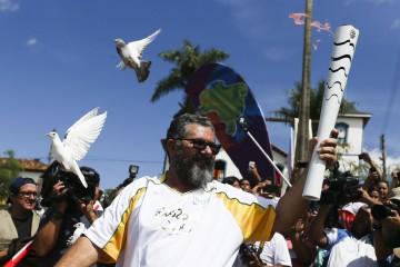 Rede Minas cobre tour da tocha olímpica em MG