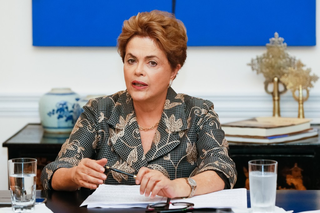 Presidente Dilma Rousseff entrevista para os jornais internacionais. FOTO: Roberto Stuckert Filho/PR