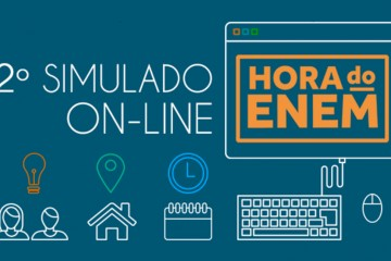 Começa a segunda edição do simulado on-line do Hora do Enem