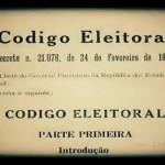 Código Eleitoral - 1932