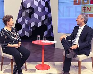 Entrevista exclusiva com Dilma Rousseff é exibida pela Rede Minas