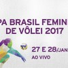 Fase decisiva da Copa Brasil de vôlei feminino na Rede Minas