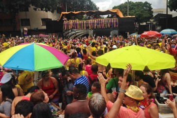 Cobertura carnaval de BH – Domingo