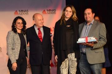 Presidente da Rede Minas participa de cerimônia de prêmio de literatura