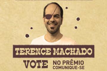 Terence Machado é indicado ao Prêmio Comunique-se 2017