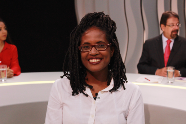 Djamila é a segunda entrevistada do Voz Ativa. FOTO: Lilian Lacerda