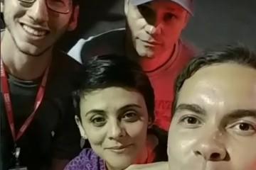 Harmonia mostra bastidores do programa no Instagram da Rede Minas