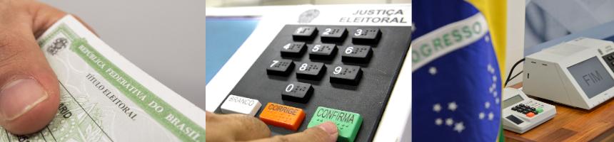 Foto: Rafael Neddermeyer, Nelson Jr./ ASICS/TSE e José Cruz/Agência Brasil