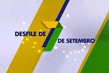 Desfile de 7 de setembro na programação da Rede Minas