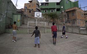 Curtas sobre favela, pichação e basquete na Faixa de Cinema