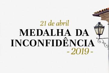 Rede Minas transmite a entrega da Medalha da Inconfidência