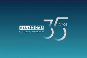 Rede Minas completa 35 anos e inicia celebrações pela data