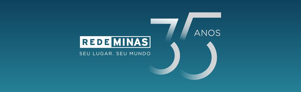Selo Rede Minas 35 anos