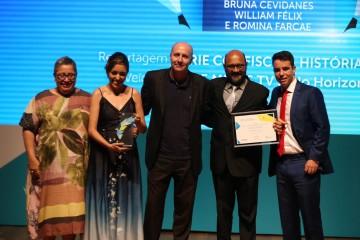 Rede Minas vence Prêmio Estácio de Jornalismo 2019