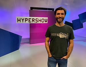 Hypershow retorna programação inédita com cenário novo e série Som & Fúria