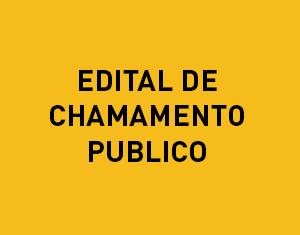 Segundo Edital de Chamamento Público Emergencial para contratação temporária