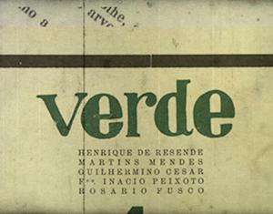 Revista cataguasense Verde é destaque de especial sobre a Semana de Arte Moderna